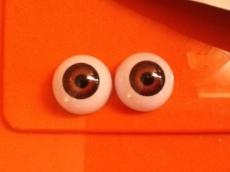 par de ojos acrilicos castaños 01 18mm