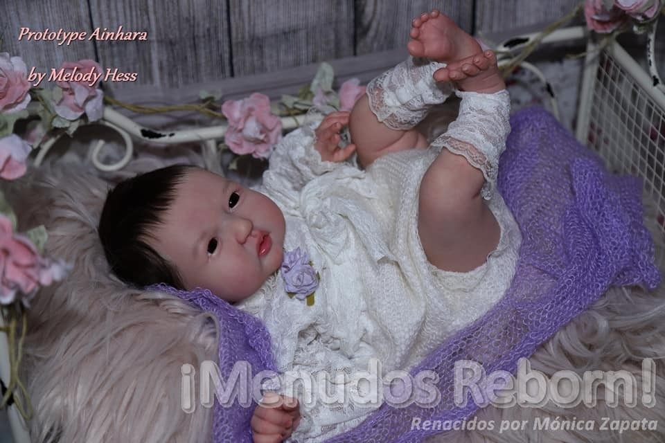 Kit para reborn Ainhara by Melody hess