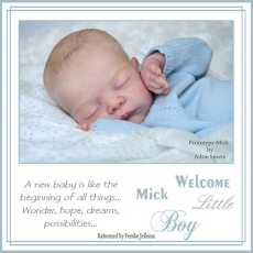kit para reborn Mick by adrie stoete