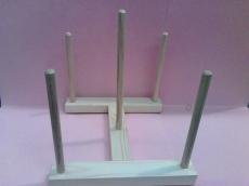 soporte de madera para secar las piezas