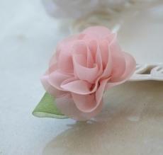 pinza flor rosa mod.2