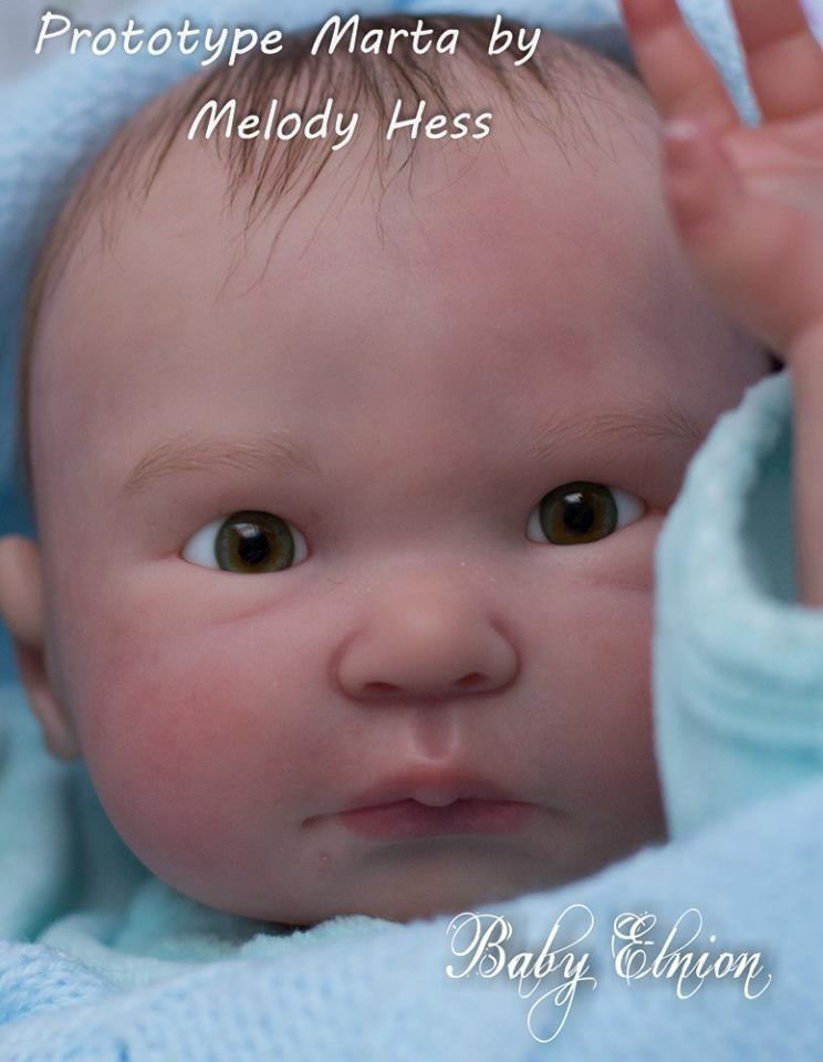 Kit para reborn Marta by Melody hess