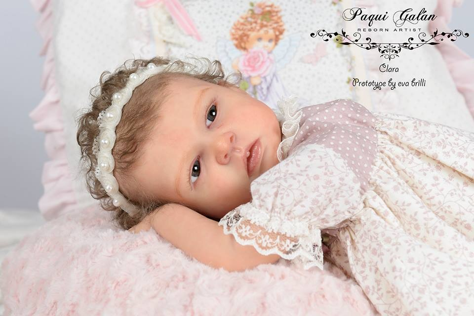 Kit para reborn Clara by Eva Brilli open edition