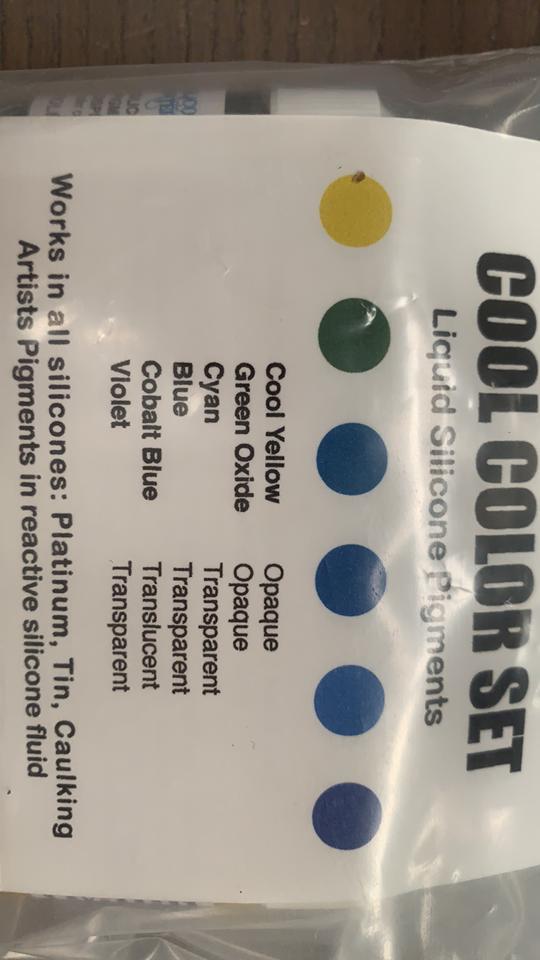 7ml COOL COLORS 6 color set