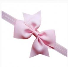 diadema con lazo rosa grande mod. 7