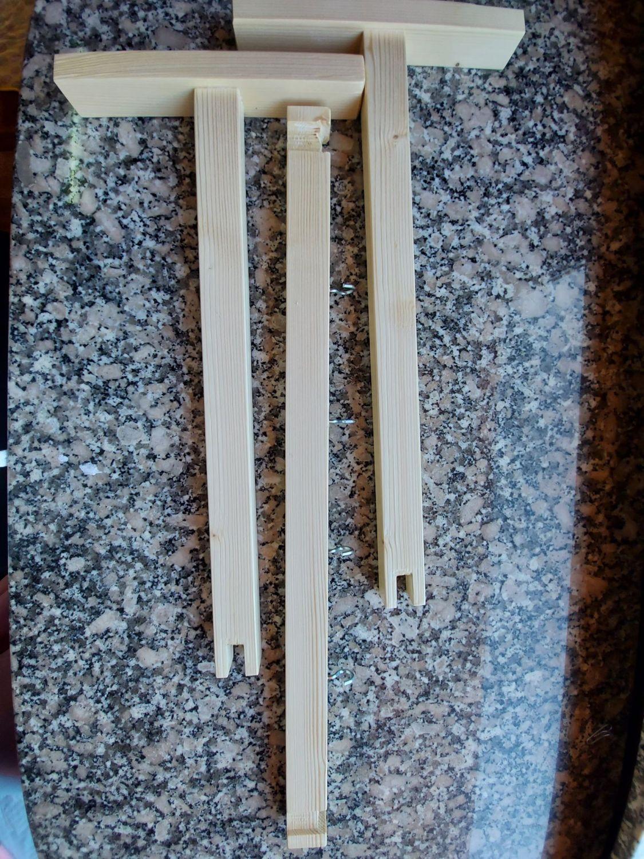 soporte de madera desmontable especial para el pintado de kits de silicona