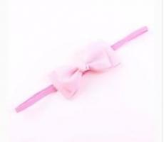 diadema con lazo rosa mod. 1