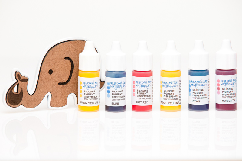 7ml PRIMARY COLORS 6 color set