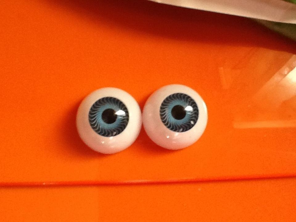 par de ojos acrilicos azul 02 20mm